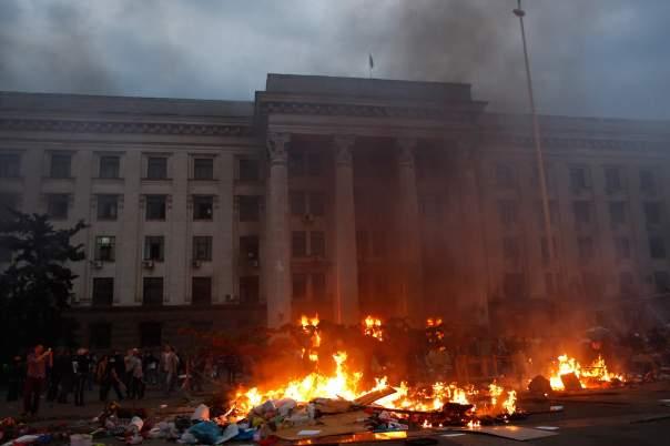 Задержан экс-чиновник в деле о пожаре в одесском Доме профзоюзов