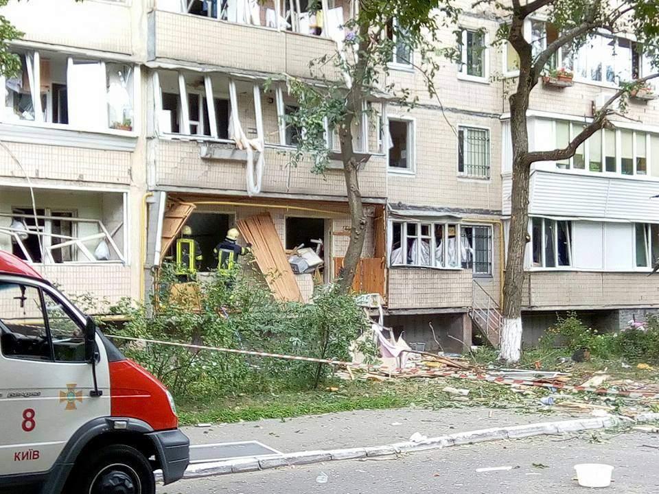 Взрыв в Киеве: