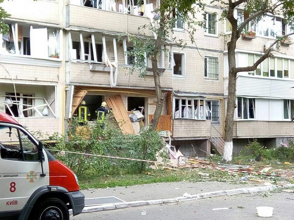 По факту взрыва в Киеве начато уголовное производство (Видео)