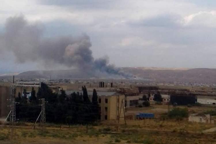 В Азербайджане на птицефабрике произошел мощный взрыв