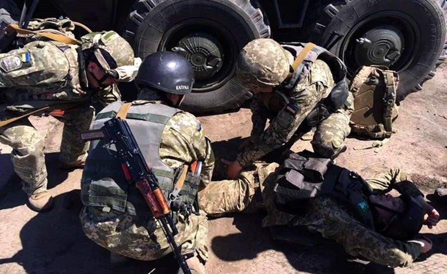 В зоне АТО снова потери среди украинских военных
