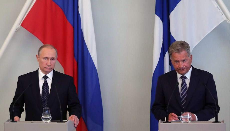 Президент Финляндии и Путин обсудили Украину
