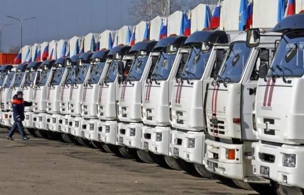 Гуманитарная помощь на Донбасс из РФ: Украина выразила протест