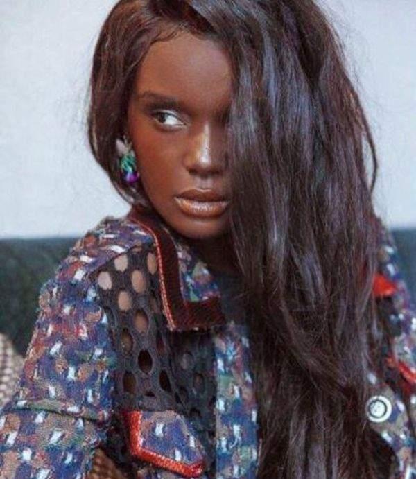 Новая кукла: Темнокожая модель с необычной внешностью покоряет Интернет (Фото)
