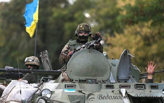 На Донбассе отмечается уменьшение интенсивности обстрелов, - штаб АТО