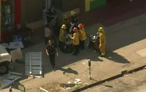 В Лос-Анджелесе автомобиль задавил шестерых людей (Видео)