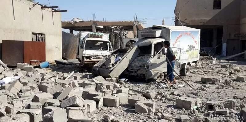 В результате авиаударов по сирийским провинциям было убито 60 человек