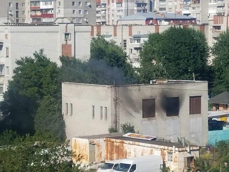 Во Львове произошел пожар на двух электроподстанциях (Фото)