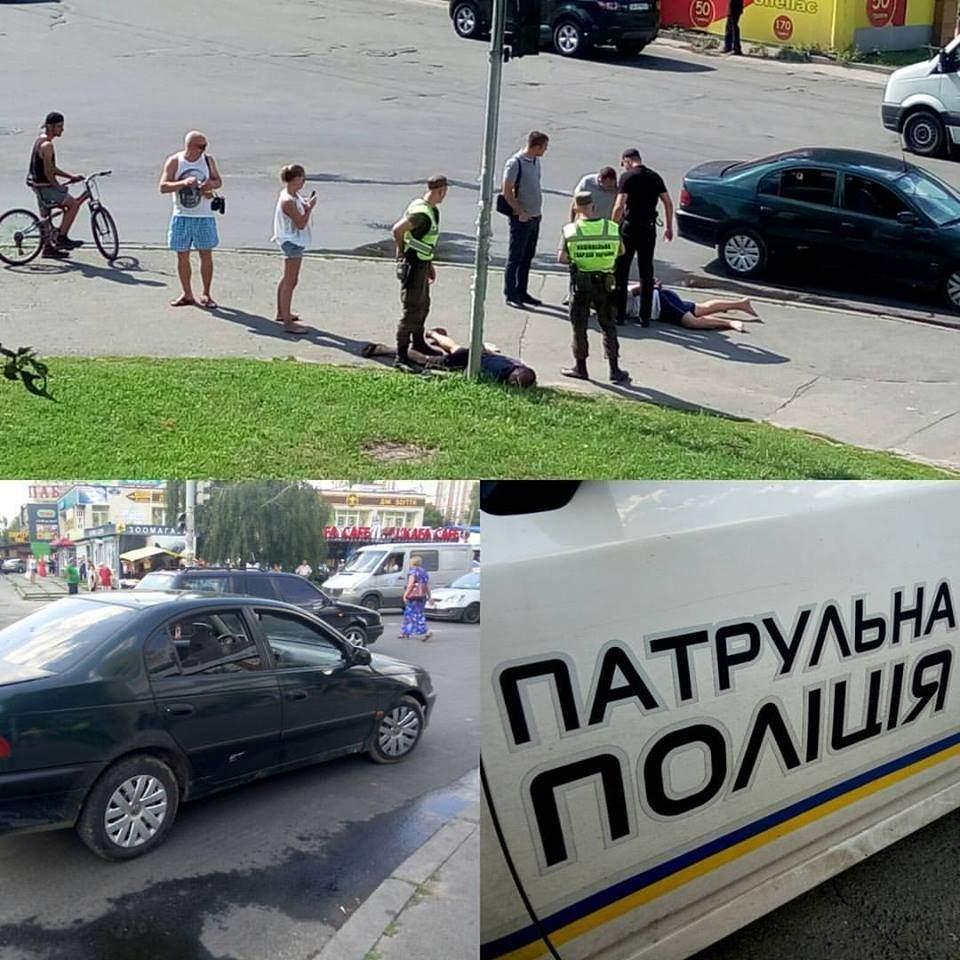 В столице средь бела дня мужчины попытались похитить девушку (Фото)