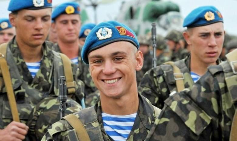 В Украине отмечают День ВДВ