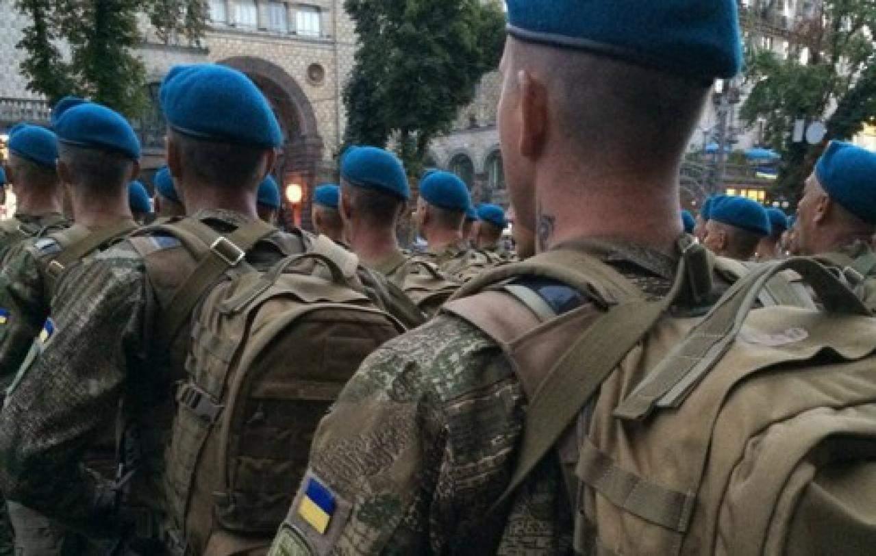 За время проведения АТО на Донбассе погибло 467 десантников