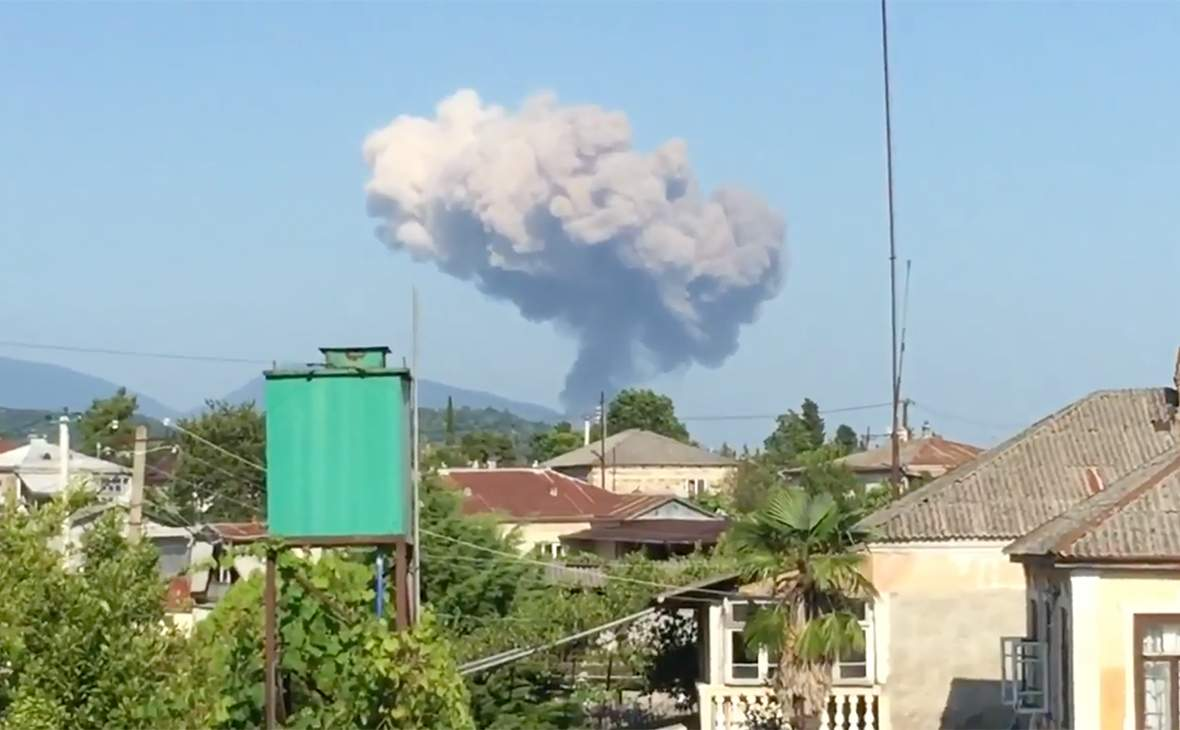 Взрыв на складе боеприпасов в Абхазии: открыто уголовное дело