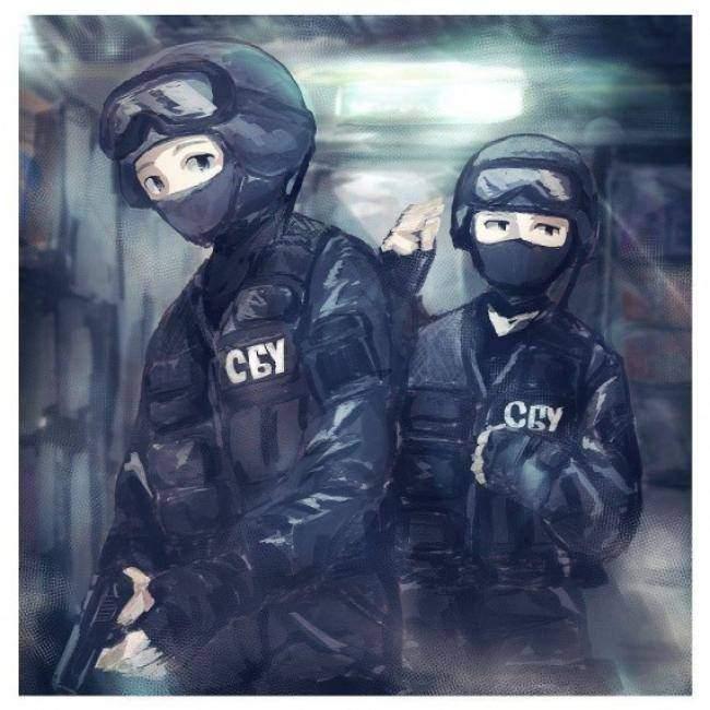 Художник из Японии обнародовал серию рисунков с военными ВС Украины (фото)