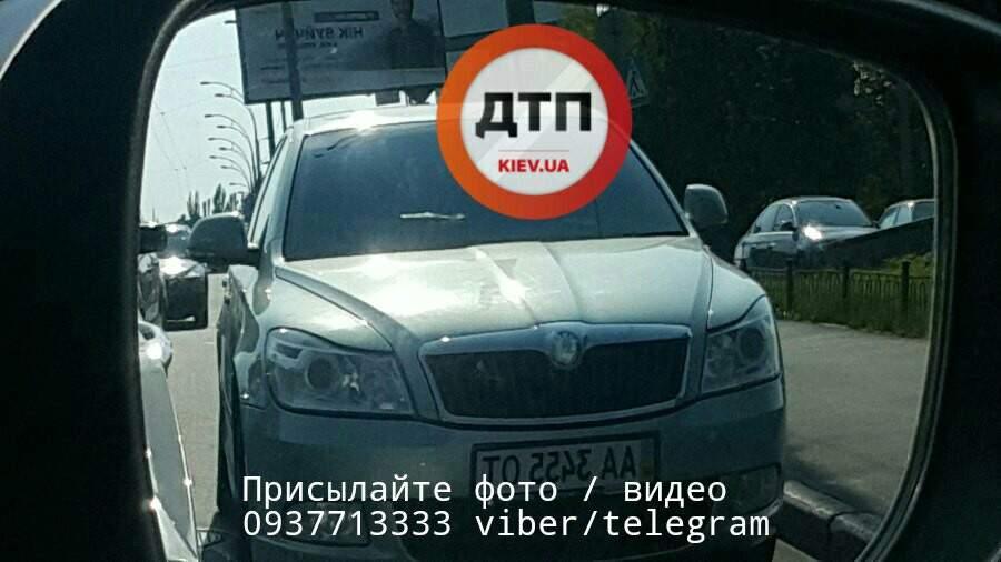 В столице водителя-нарушителя задержали за нарушение ПДД (фото)