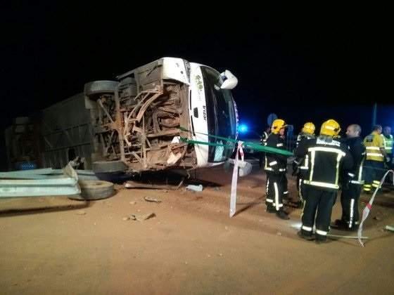 В результате страшной аварии в Испании пострадало 26 человек (Фото)