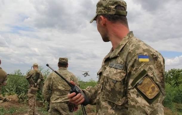 В зоне АТО на участившиеся обстрелы украинские военные открыли ответный огонь