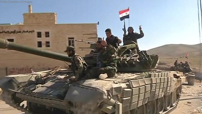 Войска Сирии окружили террористов ИГИЛ в Хомсе