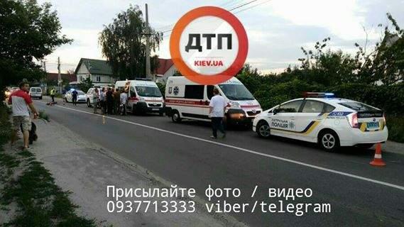 В столице нетрезвый водитель насмерть сбил двух девочек (Фото)