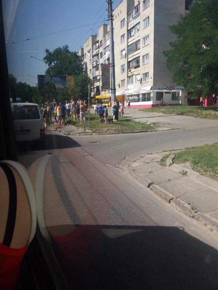 Во Львове сбили пешехода: пострадавшего доставили в больницу (фото)