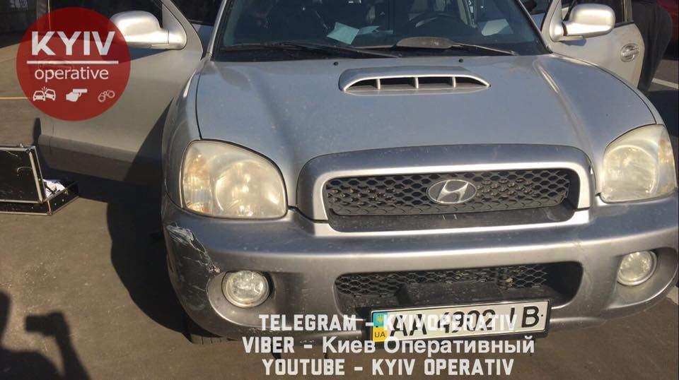 В Киеве женщина устроила погоню за ворами (видео)