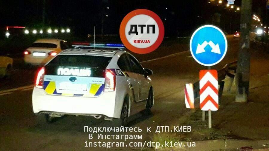 В столице насмерть сбили пешехода (фото)