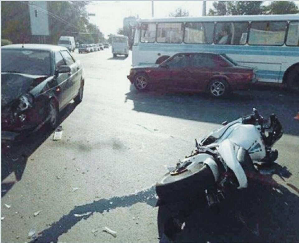 В Полтаве произошло кровавое ДТП с участием мотоцикла (Фото)