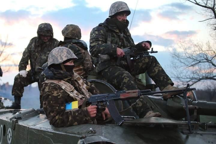 Под обстрелами в АТО пострадали 9 украинских военных