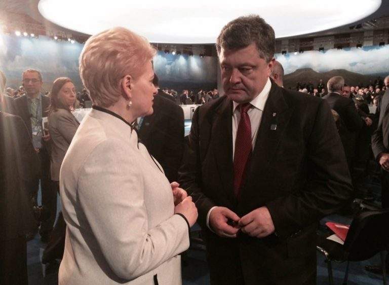 Встреча и не планировалась: В РФ распространили фейковый слух об отмене президентом Литвы встречи с Порошенко