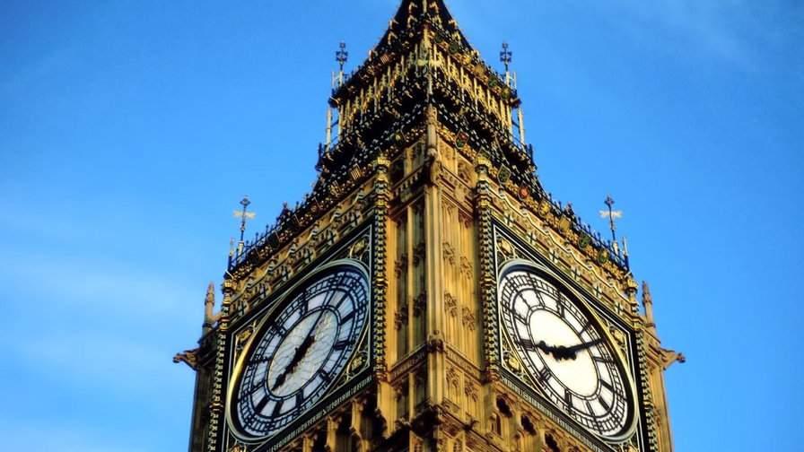 Впервые за полтора века остановятся известные часы Биг-Бен в Лондоне