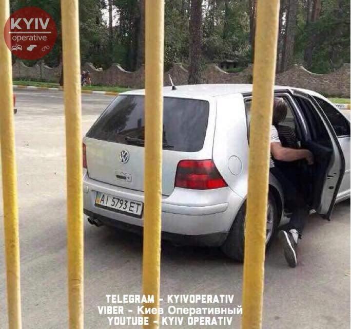 На Киевщине охранника серьезно ранили грабители (Фото)
