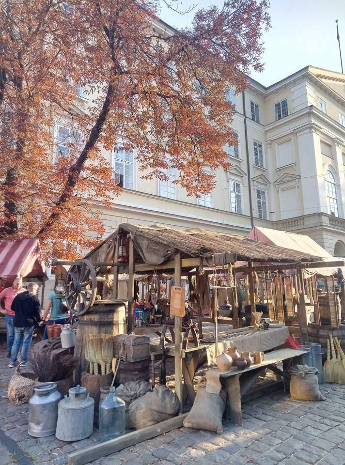 В центре исторического Львова начались съемки фильма (Видео)