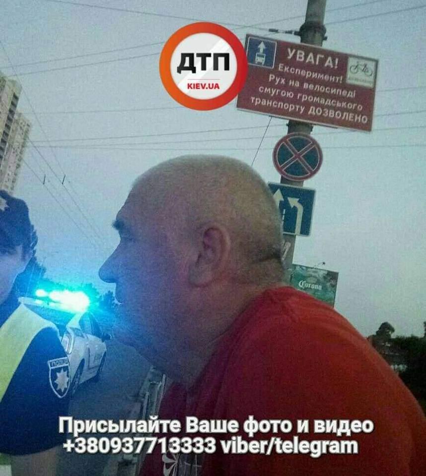 В Киеве произошло вело ДТП, пострадал ребенок (Фото)