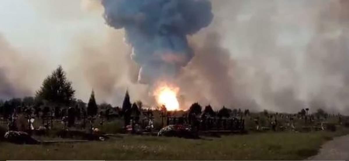 На заводе в Донецке произошел серьезный пожар (Видео)