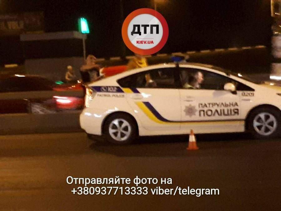В Киеве сбит очередной пешеход нарушитель