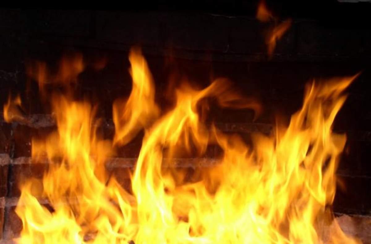 В Харькове разгорелся масштабный пожар (Видео)