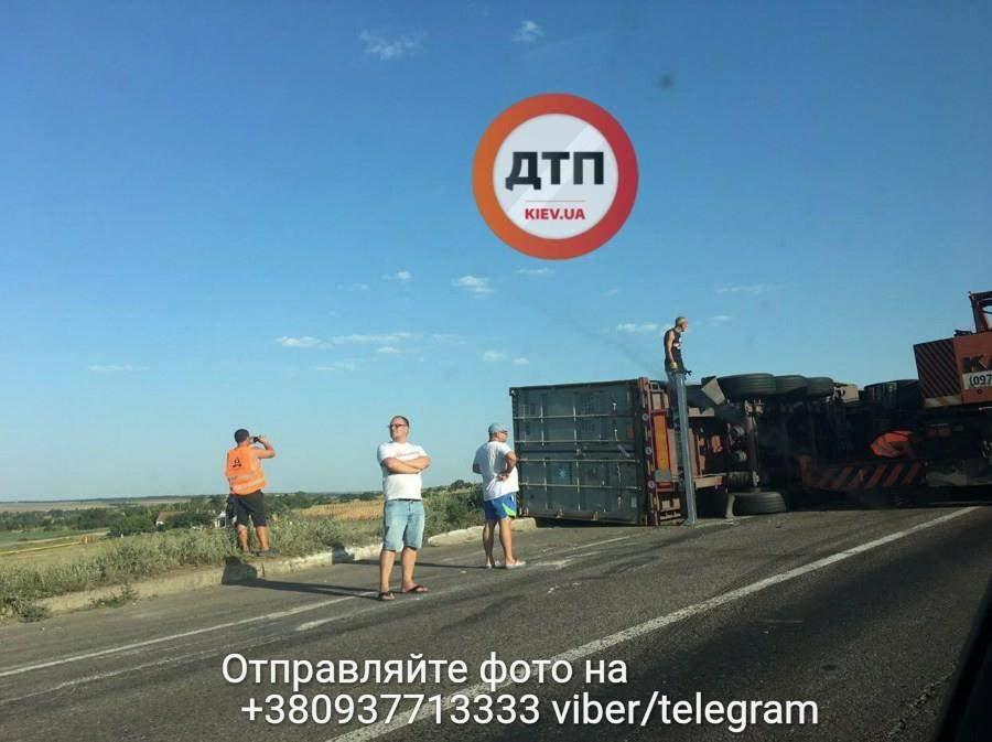 На трассе Одесса-Киев произошло несколько серьёзных ДТП (Фото)