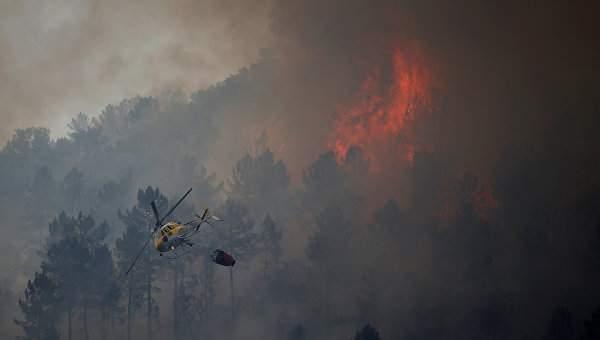 Крушение самолета в Португалии: Есть погибшие
