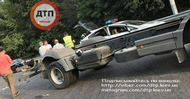 В направлении Киева произошла серьёзная авария (Фото)