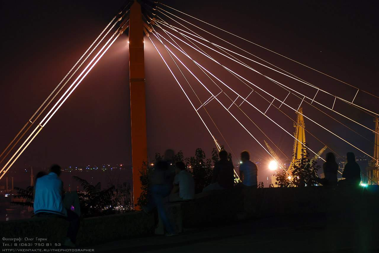 Сказочные снимки вечерней Одессы (Фото)