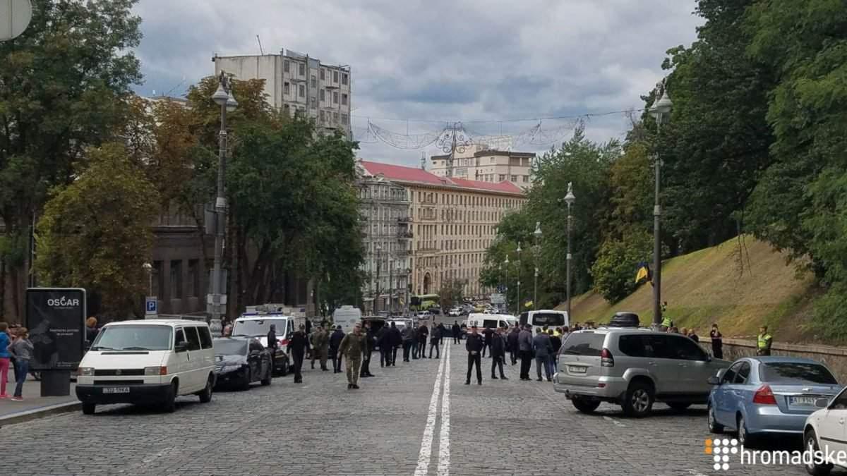«Не теракт»: стали известны подробности взрыва в Киеве (видео)