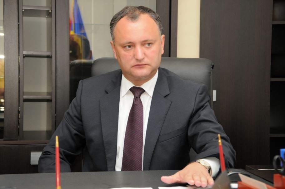 Президент Молдовы поддерживает присутствие войск РФ в Приднестровье