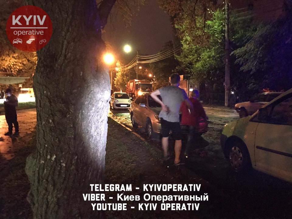 В столичном парке произошло нападение со стрельбой (Видео)