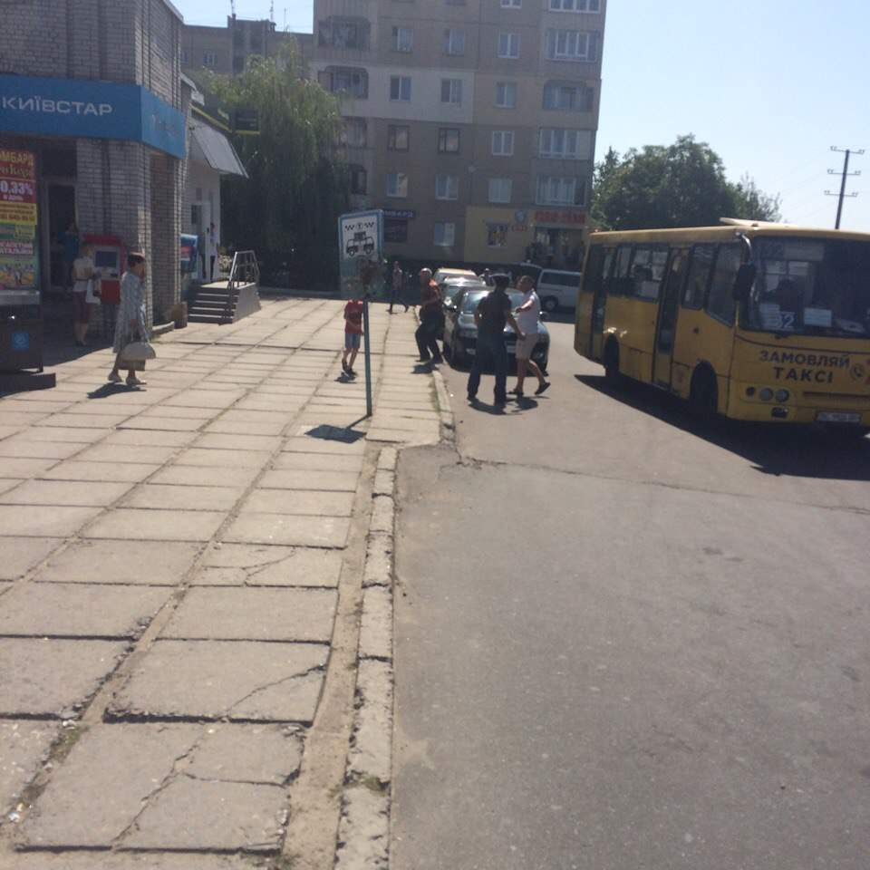Во Львове водитель маршрутки отказался везти пенсионера (Фото)