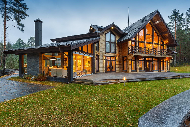 Летний отдых, или жизнь в деревянном доме