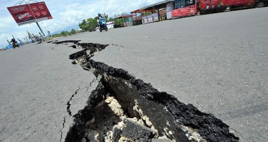 У побережья Индонезии произошло мощное землетрясение магнитудой 6,2