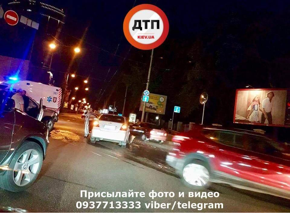 В столице произошла очередная авария с пострадавшими (Фото)