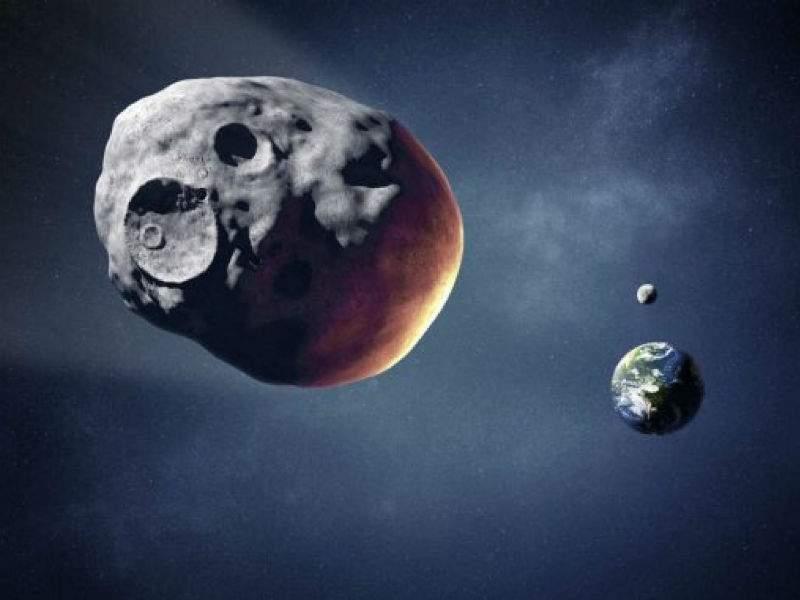Вблизи Земли промчался крупный астероид