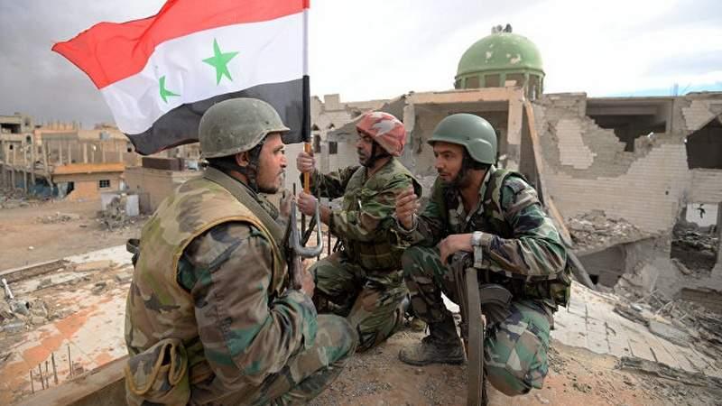 Сирийские войска установили контроль над городом на востоке провинции Хама