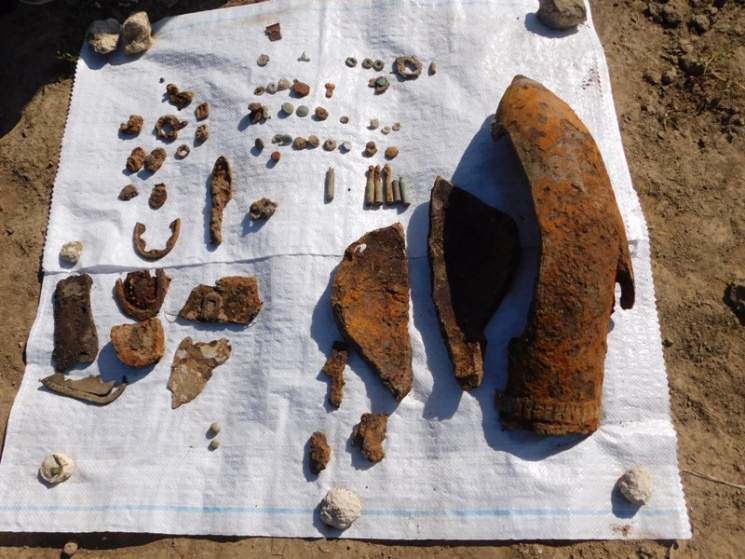 На Тернопольщине обнаружили останки австрийских и русских солдат времён Первой мировой