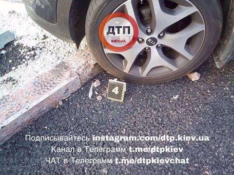 В столице произошло очередное ДТП с участием нескольких авто (Фото)